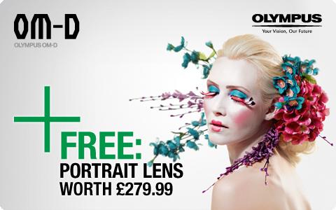 Olympus OM-D Free Portrait Lens Promotion